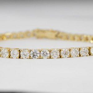 Tennisarmband met diamanten