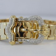 Armband bezet met briljant diamant
