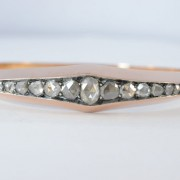 Armband bezet met roos diamanten
