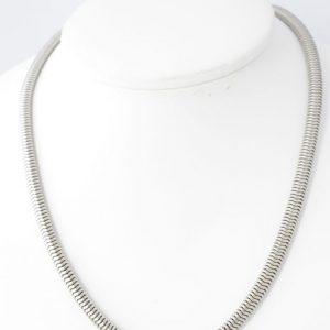 Chique zilveren ketting