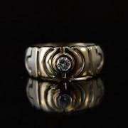 Designer ring met briljant