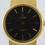 Geelgouden Concord horloge
